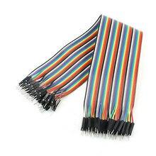 30 см длинные 40Pin кабель со штыревыми соединителями на обоих концах для подключения кабель линия подключения красочный