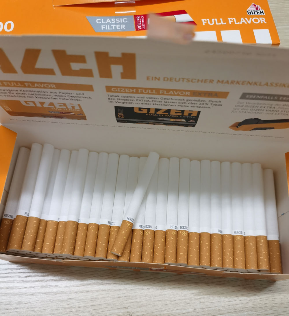 Cigarette Accessories Empty Pipe 200 PCS