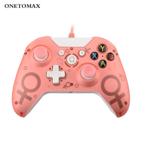 one pc USB Wired Controller for Microsoft Xbox One מחשב PC Controller Controle Mando עבור Xbox One Slim Console Gamepad ג