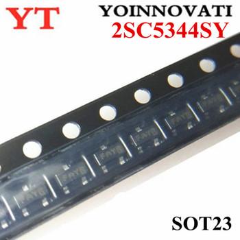 100 sztuk partia 2SC5344SY 2SC5344S 2SC5344 C5344 SOT23-3 IC najlepsza jakość tanie i dobre opinie YOINNOVATI Nowy Regulator napięcia Komputer