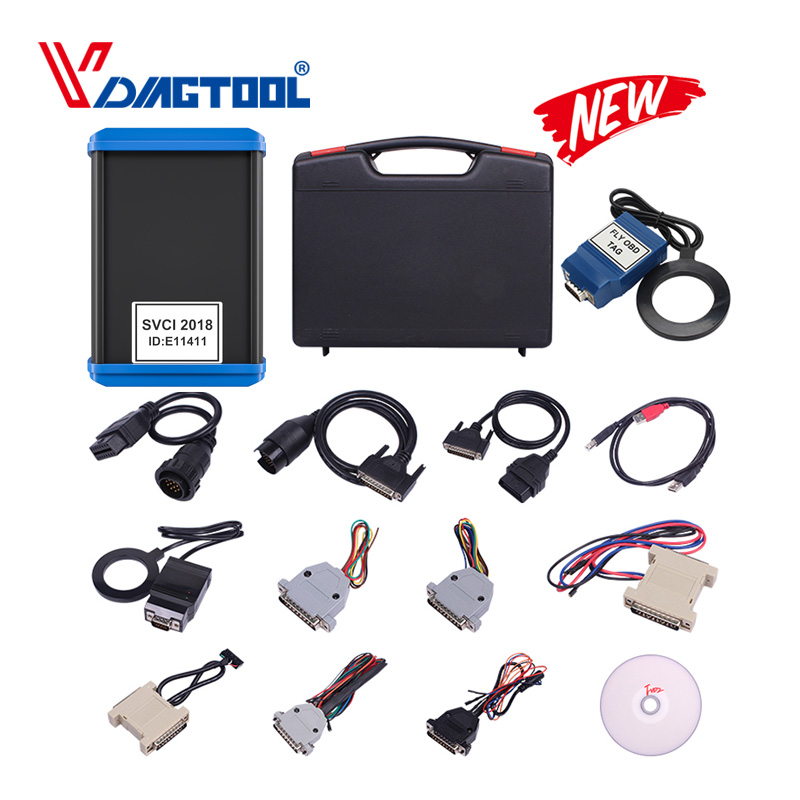 2018 FVDI Abrites Commander 2015 SVCI Full Diagnostic Tool Scanner With 18 Software Contain VVDI2 For VAG/For BMW Key Functions