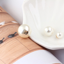 10pcs diy jewelry material handmade earrings jewelry accessories bright pearl plug earplugs