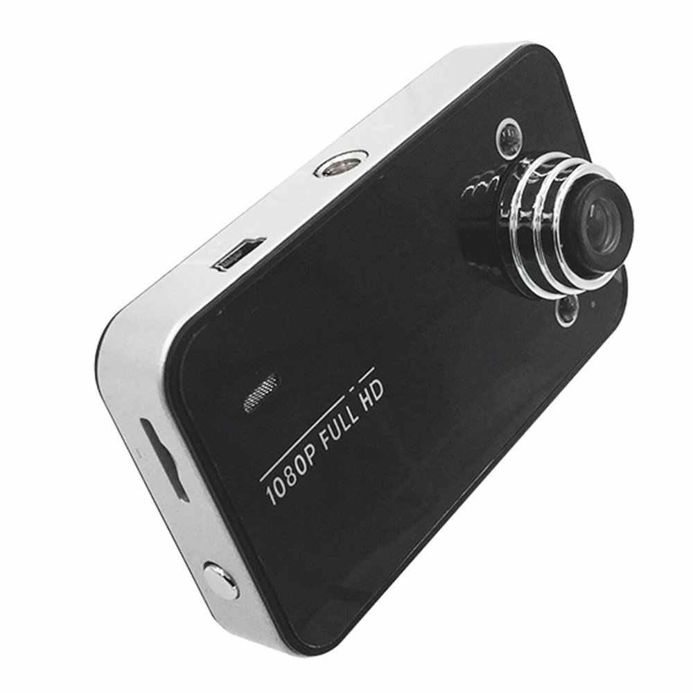 2018 K6000 רכב DVR 1080P מלא HD וידאו מקליט לוח מחוונים מצלמה LED ראיית לילה וידאו Registrator Dashcam תמיכת TF כרטיס