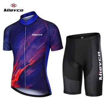 Ropa de Ciclismo de verano para hombre, Conjunto de Jersey de secado...