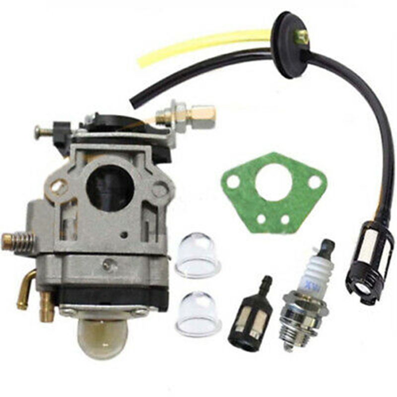 Carburetor Kit For Brushcutter Carburetor Gasket Fuel Filter Rebuild Repair Kit Brushcutter Parts Suitable For 52ccm And 49ccm