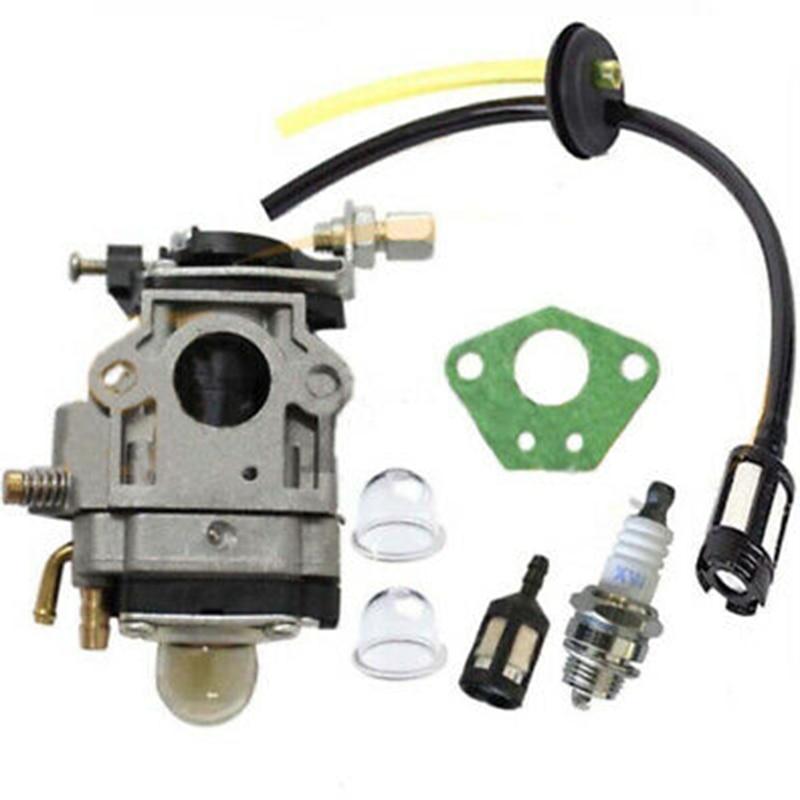 Carburetor Kit For Brushcutter Carburetor Gasket Fuel Filter Rebuild Repair Kit Brushcutter Parts Suitable For 52ccm And 49ccm