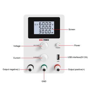 Image 5 - Mini DC di Alimentazione 30V 10A Regolabile 60V 5A USB Digitale di Commutazione Regolatore di Tensione Stabilizzatori di Rilavorazione di Riparazione Del Computer Portatile fonte di