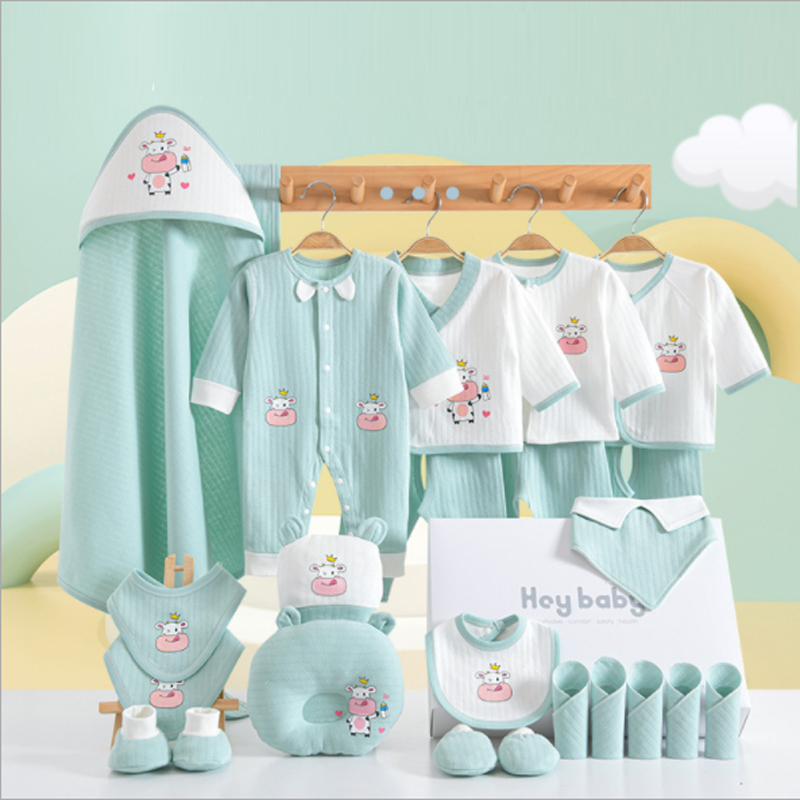 24/22/18pieces/0-3Months  Newborn Baby Clothing 100%Cotton Kids Clothes Suit Unisex Infant Boys Girls Clothing Set