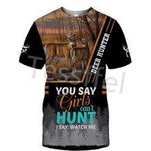 Камуфляжная охотничья футболка tesswi fi с 3d принтом новинка
