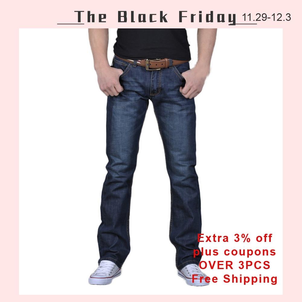Men Denim Jeans Casual Autumn Winter Cotton Hip Hop Pants Male Loose Work Long Trousers Men Jeans Pants Slim Fit Denim