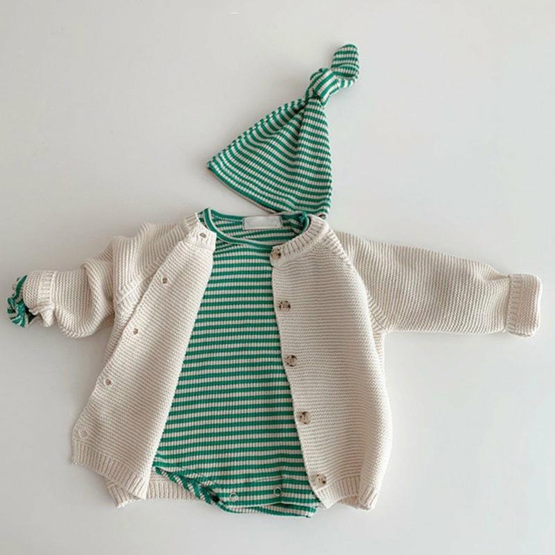 Autumn Kids Knitting Sweaters Newborn Baby Girls Boys Cardigan Baby Girl Sweater Knitting Jacket Coat Toddler Baby Girls Tops 5