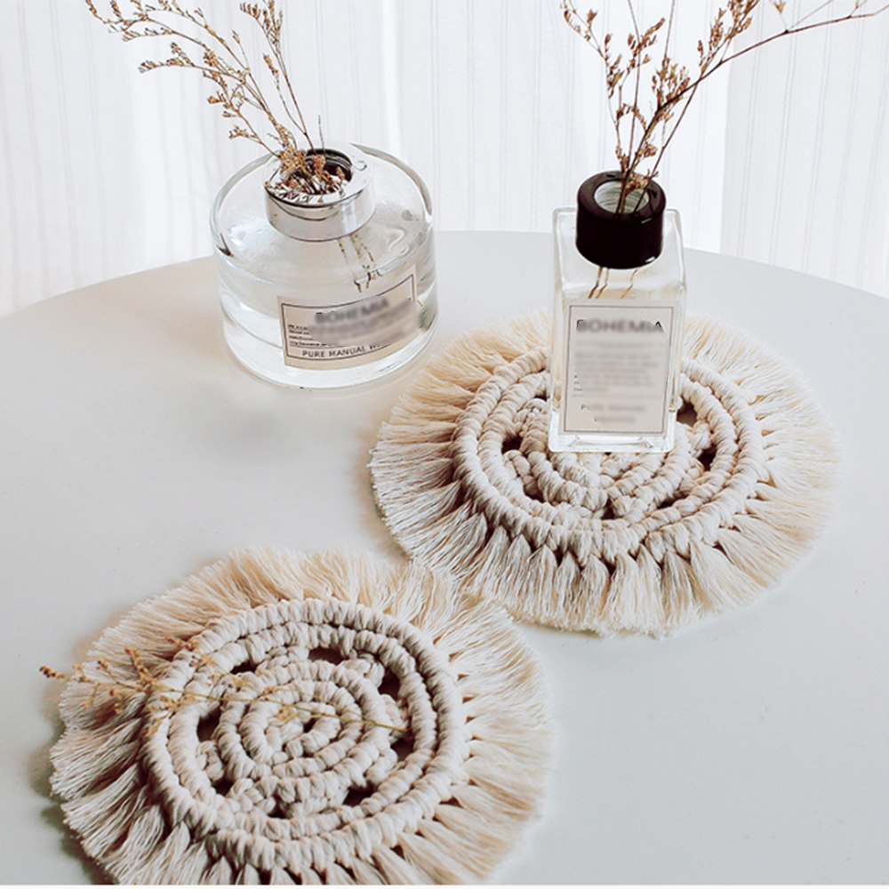 Braid Placemats Heat Resistant Dining