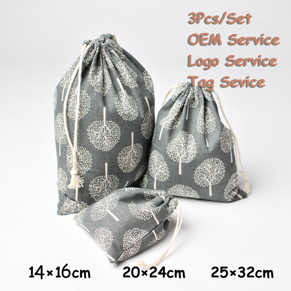 Traveling Storage Bag 3Pcs/Set Toys Organizer Bag Jewlery Protection Pouch Perfume Aroma Fragrance Pouch Sweet-smelling Bag