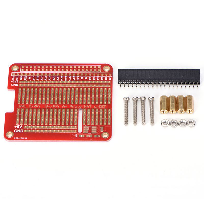 DIY Proto HAT Shield For Raspberry Pi 3 And Raspberry Pi 2 Model B / B+ / A+ KB