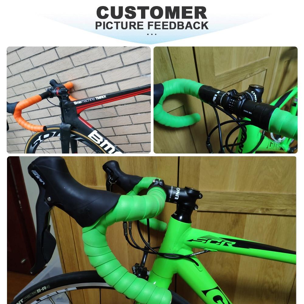 UNO Aluminum MTB FR Road Bike Handlebar Bicycle Racing Drop Bar 31.8*400mm Black
