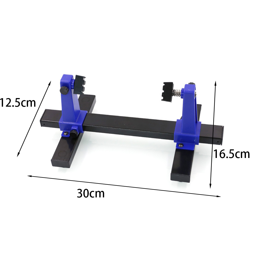 SN-390 Jig Tool PCB Soldering Assembly Stand Adjustable Anti-slip Fixture Printed Clamp 360 Degree Rotation Circuit Board Holder