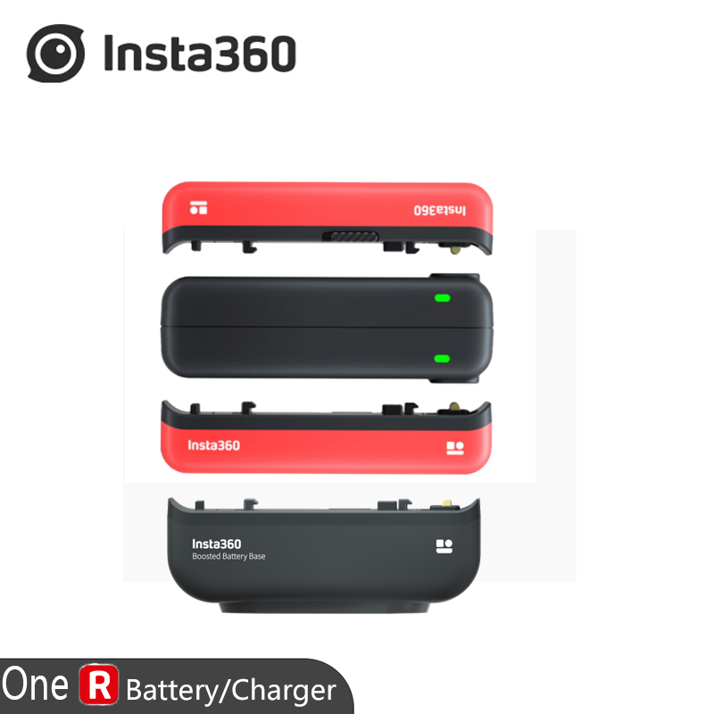 Original Insta360 ONE R Boosted Battery Base/Battery Base/Fast Charge Hub/Accessories For Insta 360 ONE R(China)