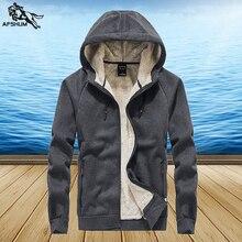 winter men Sweatshirts L-5XL 6XL 7XL 8XL Fleece jac