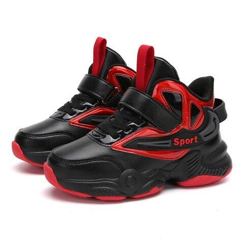 do menino sapatos de basquete leve tenis