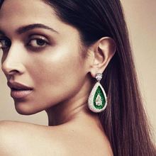 Godki 2020 레드 카펫 여성을위한 유명한 브랜드 물방울 귀걸이 boho crystal cz drop earrings brincos fashion tortoise jewelry