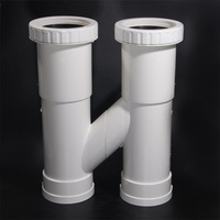 PVC Drainage Pipe Fittings Split Expansion Joint H Tube Center Distance 20 22 24 Centimeters