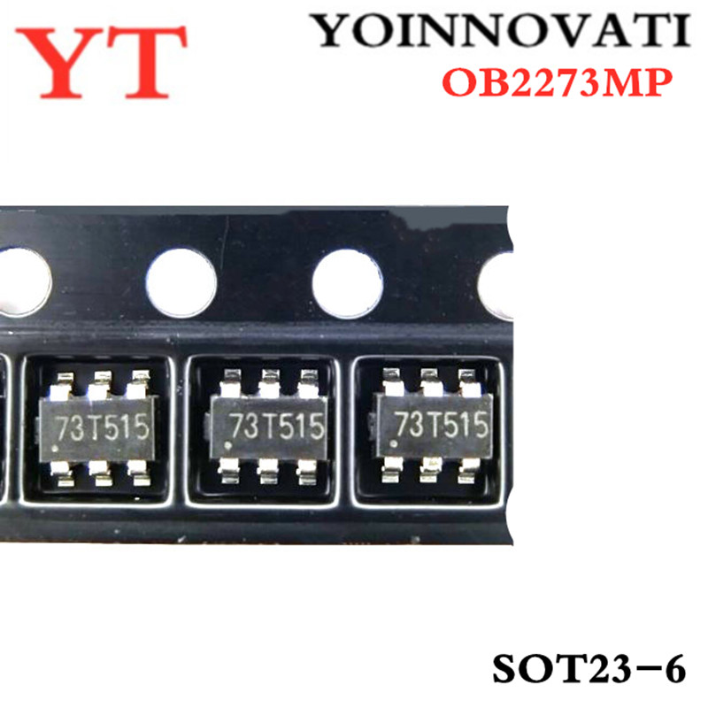 20pcs/lot OB2273MP OB2273 SOT23-6 LCD Power Management Chip IC Best Quality