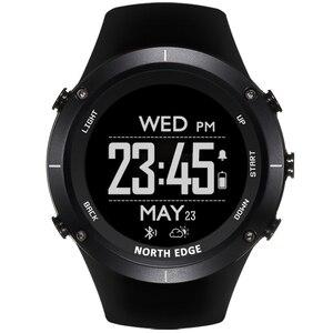 Image 3 - חכם שעונים גברים חיצוני ספורט שעון עמיד למים 50m דיג GPS מד גובה ברומטר מדחום מצפן גובה צפון קצה