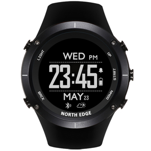 Image 3 - Smart watches Men outdoor sports watch waterproof 50m fishing GPS Altimeter Barometer Thermometer Compass Altitude NORTH EDGE