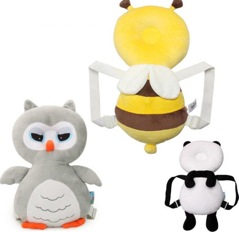 cabeca de coruja travesseiro bebe anti queda quebra resistente cabeca dos desenhos animados travesseiro almofada de