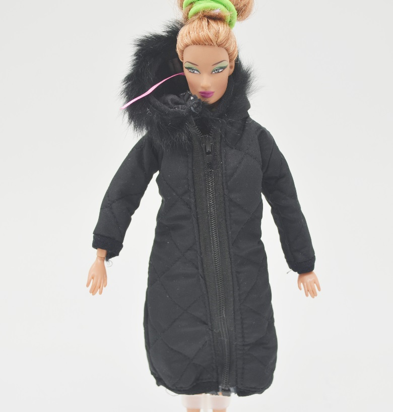 1 psc Outfits long Winter Coat For <font><b>Barbie</b></font> <font><b>original</b></font> 1/6 bjd Doll Clothes costume Jacket Accessories boneca <font><b>casa</b></font> da house girl image