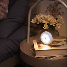Движения pir Сенсор светильник шкаф Спальня ночной Светильник