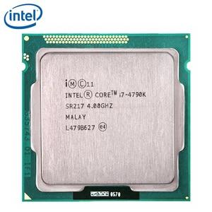 Image 1 - Intel Core i7 4790K i7 4790K 4GHz Quad Core Eight Thread CPU Processor 88W 8M LGA 1150 tested 100% working