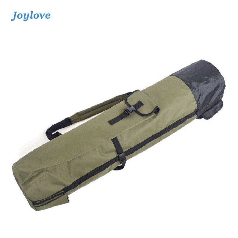 JOYLOVE torba wędkarska wielofunkcyjna nylonowa na świeże powietrze wędka torby Case narzędzia sprzęt wędkarski torba do przechowywania plecak o dużej pojemności