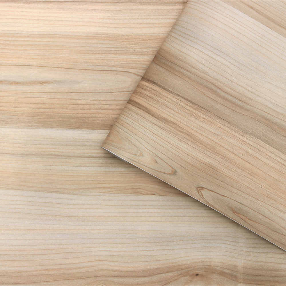 Light Wood Grain Peel And Stick Wallpaper Wood Texture Removable Self Adhesive Wallpaper Contact Paper For Kitchen Cupboard Door Wallpapers Aliexpress