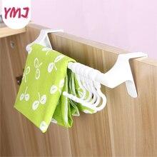Hanger-Rack Hooks Under-Cabinet-Hooks on Plastic 5 5pcs Board Paper-Roller Removable