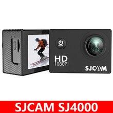 Original sjcam sj4000 câmera de ação esportes dv 1080 p hd completo 2.0 polegada tela mergulho 30m à prova ddv água mini filmadora