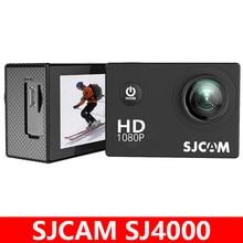 الأصلي SJCAM SJ4000 عمل كاميرا الرياضة DV 1080P كامل HD 2.0 بوصة شاشة الغوص 30 متر مقاوم للماء كاميرا صغيرة