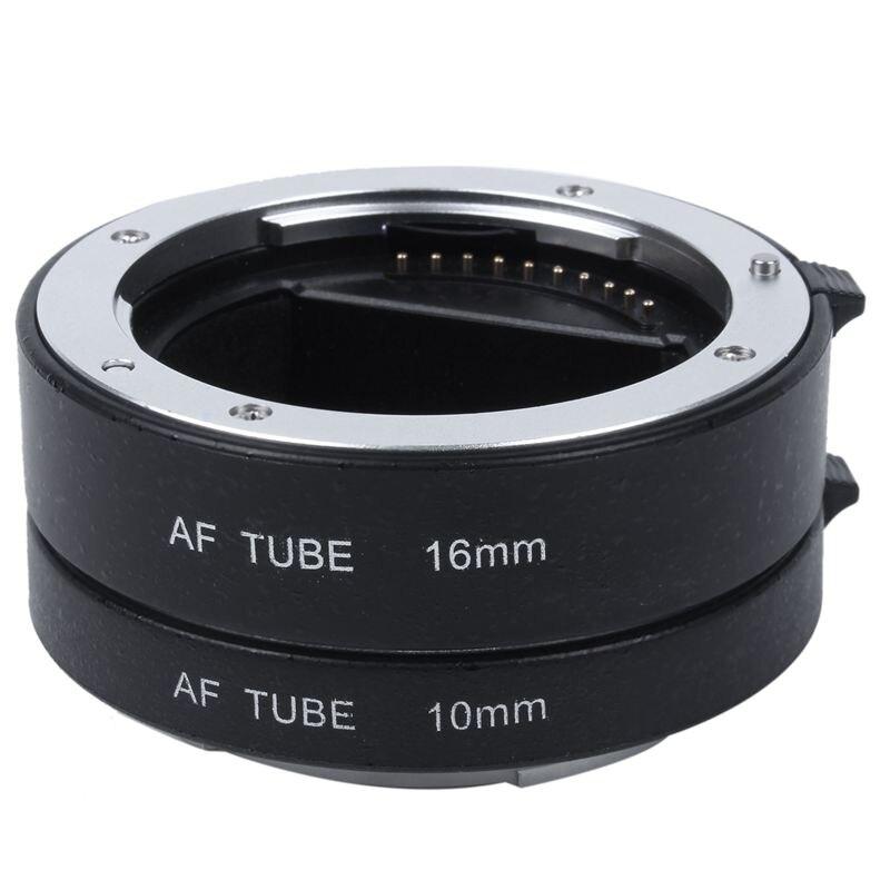 Macro Auto Focus Extension DG Tube Set Ring Metal Mount For Sony E-mout NEX