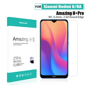 Image 5 - Redmi 8A Glass Screen Protector NILLKIN Amazing H/H+PRO 9H for xiaomi mi 8 Tempered Glass Protector for xiaomi redmi 8 pro glass