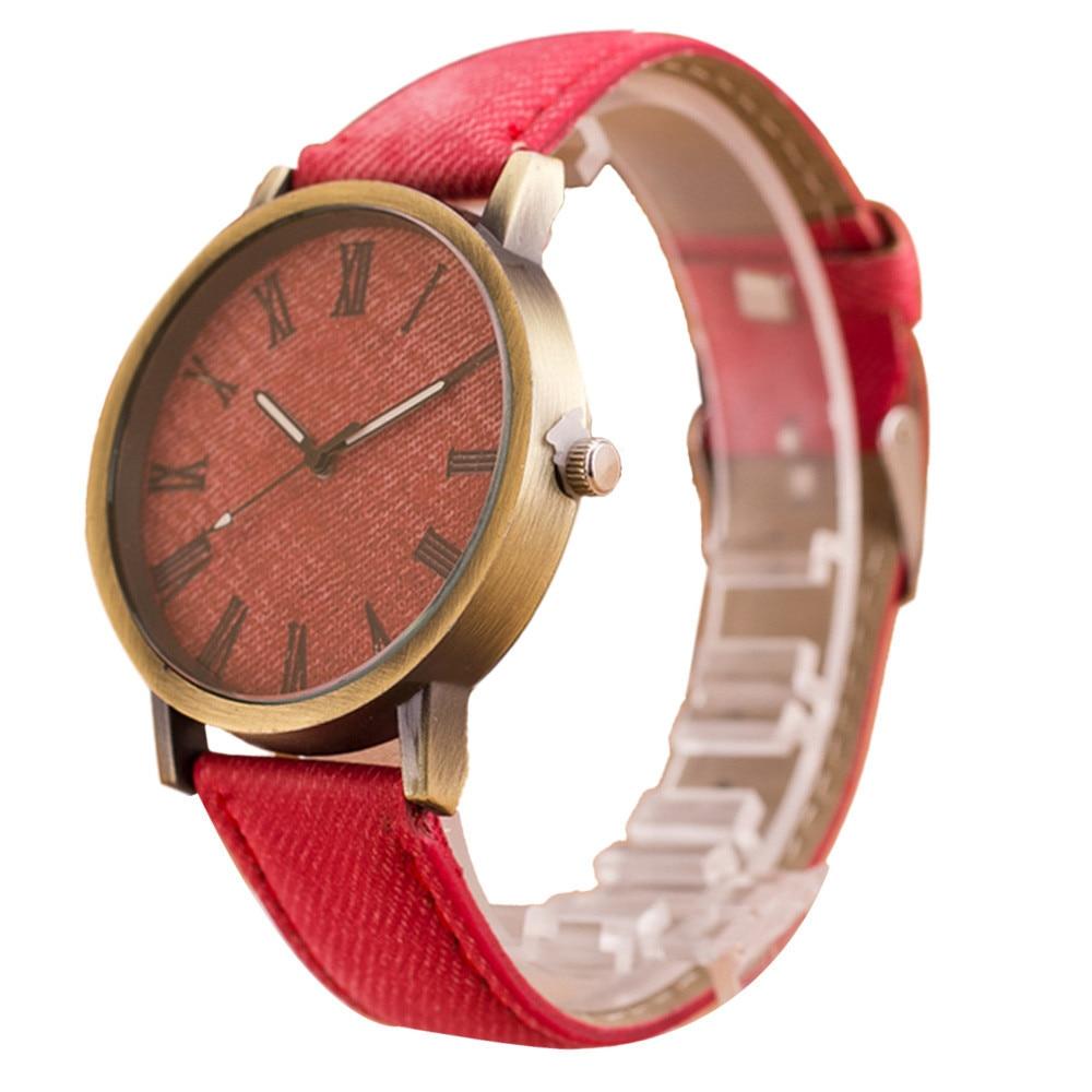 2020 Simple Watch Business Men Retro Vogue Male WristWatch Cowboy Fashion Leather Analog Quartz Watch Man Clock 5