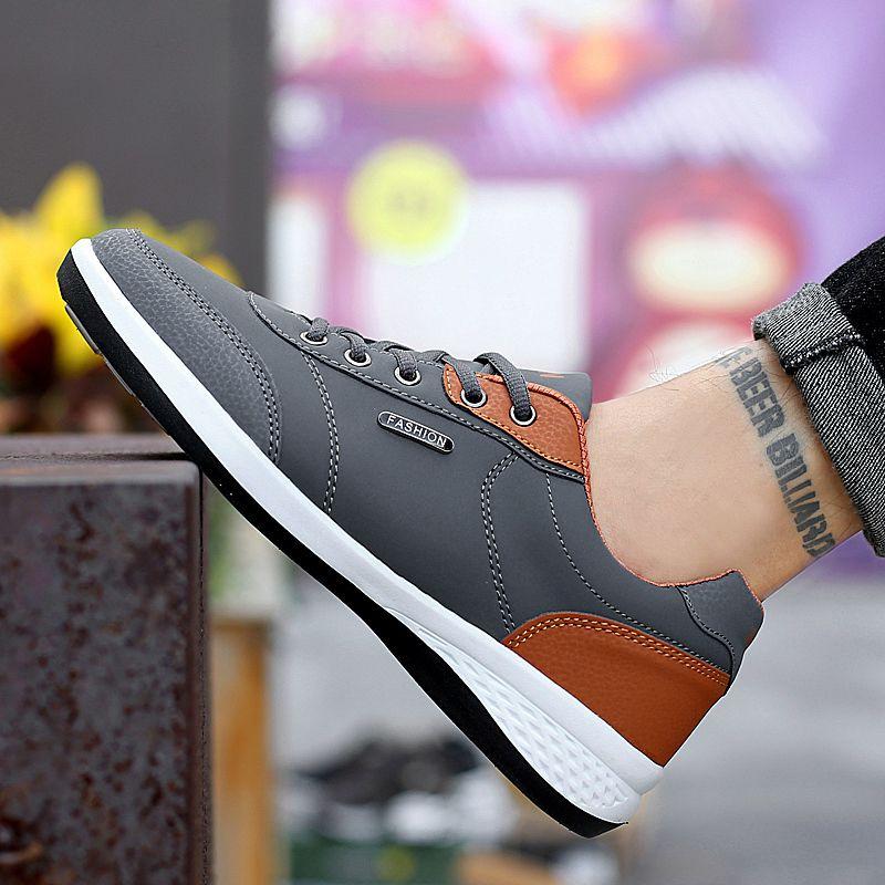 Men's Winter Sneakers PU Leather 22
