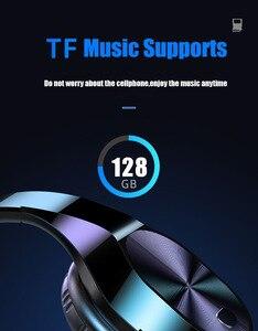 Image 3 - 3.5 ミリメートルジャックハイファイステレオワイヤレスイヤホンbluetoothヘッドフォン音楽サポートsd tfカードマイクためxiaomiスマートフォン錠