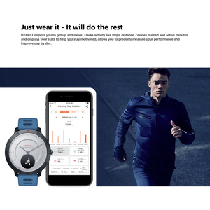 Image 4 - Zeblaze Hybrid 2 Smart Horloge Hartslag Bloeddruk Sleep Tracking Horloge Smart Timer Sport Waterdichte Mannen Smartwatch