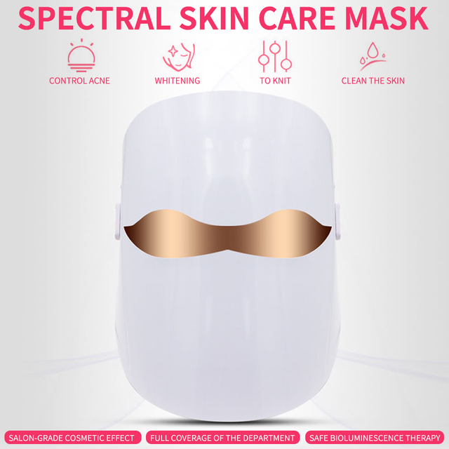 Foreverlily Led Therapy Mask Light Face Mask Therapy Photon Led Facial Mask Korean Skin Care Led Mask Therapy 1