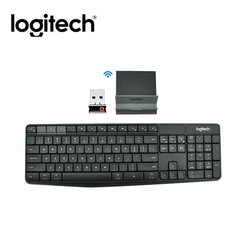 Logitech K375S Keyboard 104 Keys Bluetooth 2.4GHz USB Wireless Dual Mode Keyboard Portable Keyboards For Laptop Notebook PC New