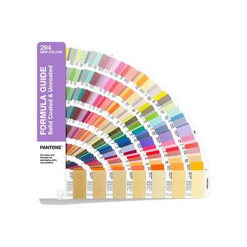 цена на 2020 New PANTONE Color Card International Standard Added 294 Color C Card U Card GP1601A-SUPL