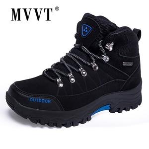 Image 2 - סופר חם גברים חורף מגפי זמש באיכות עור גברים מגפי פרווה בפלאש שלג מגפי חורף נעלי גברים חיצוני מגפיים נעליים