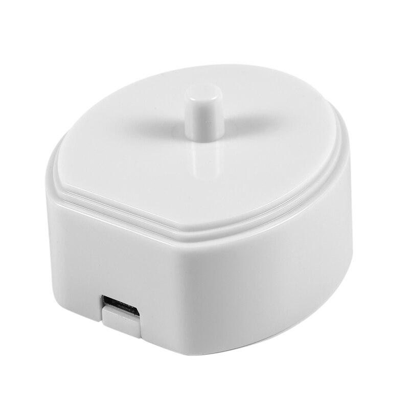 Electric Toothbrush Usb Portable Charger Charging Cradle Dock For Philips Hx6730 Hx6721 Hx3216 Hx3226 Hx6616 Hx3120(White)