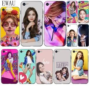 EWAU Soy Luna Soft Silicone phone case for iphone 12 Mini X XR XS 11 Pro Max SE 2020 5 5s SE 6 6s 7 8 plus