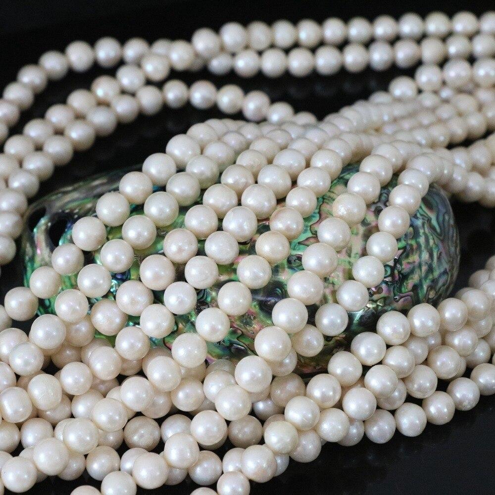 8-9mm perles naturelles de culture d'eau douce perles blanches en vrac pour la fabrication de bijoux collier à faire soi-même bracelet pour les femmes 15 pouces E1